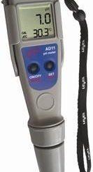 AD12 pH és hőmérséklet mérő teszter