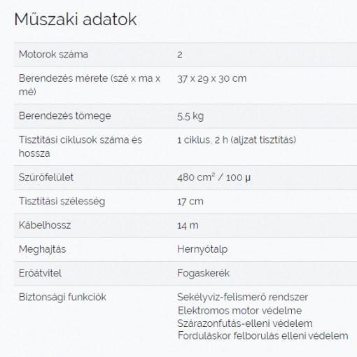 zodiac-tornax-medence-robot-porszivo-rt2100-muszaki-uszodaesmedence