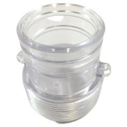 intex krystal clear homokszuros vizforgato atlatszo adapter sb